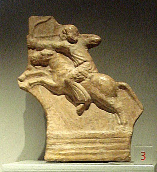 Parthian horseman.
