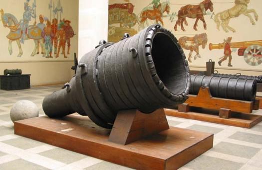 Pumhart von Steyr, a medieval supergun, Austria.