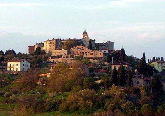 Modern photograph of San Mariano, Perugia, Umbria, Italy.