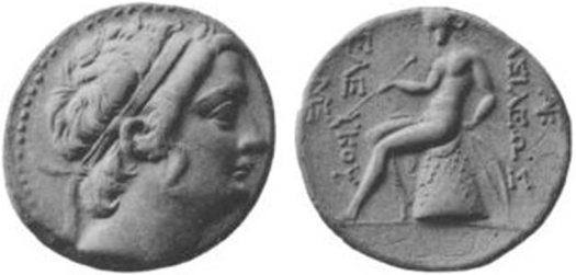 Coin of Seleucus III.