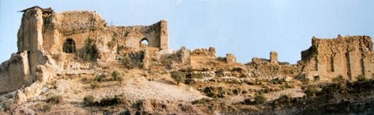 "Ghal'eh Dokhtar (or ""The Maiden's Castle"") in present-day Fars, Firuzabad, Iran, built by Ardashir in 209, before he was finally able to defeat the Parthian empire."