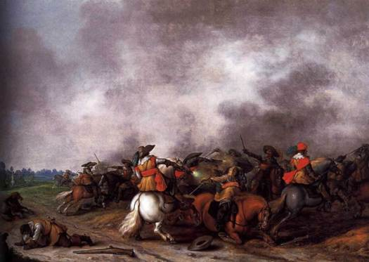 A cavalry battle between 1626 and 1628
