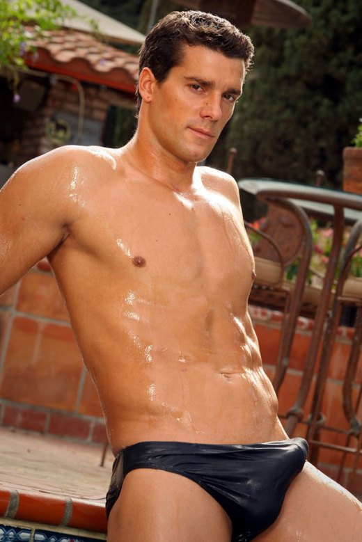 Wet Speedo Erection