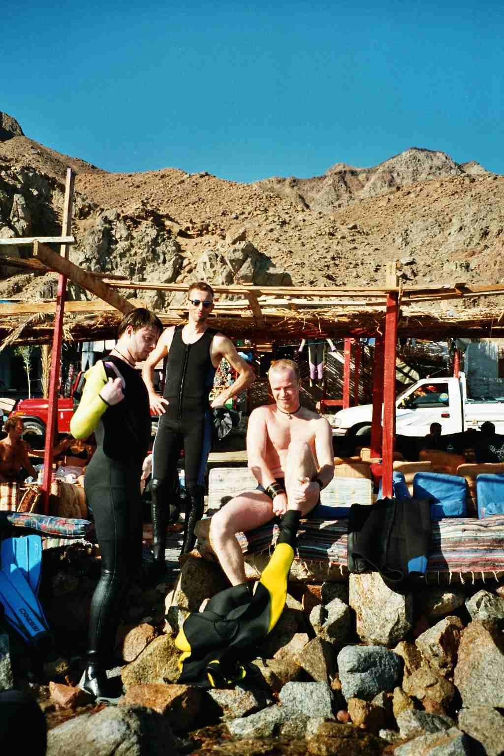 Freediving Camp in Dahab 2003