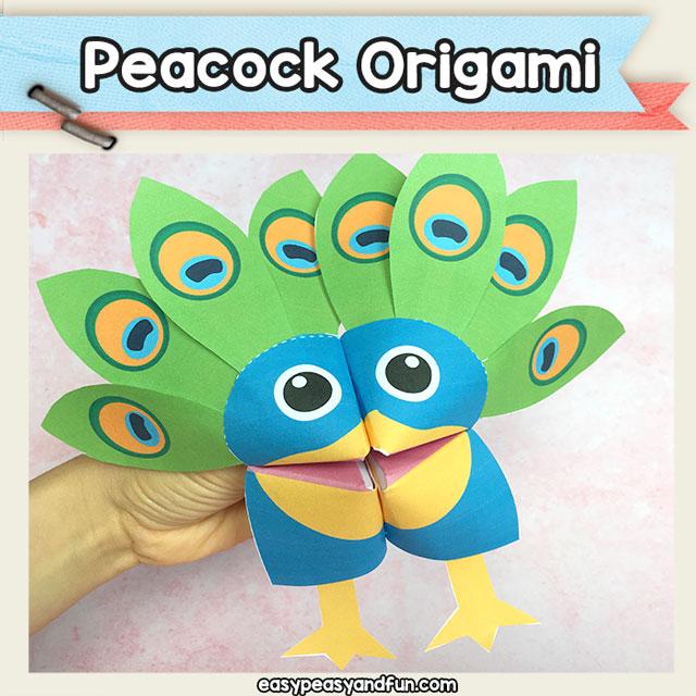peacock fortune teller cootie