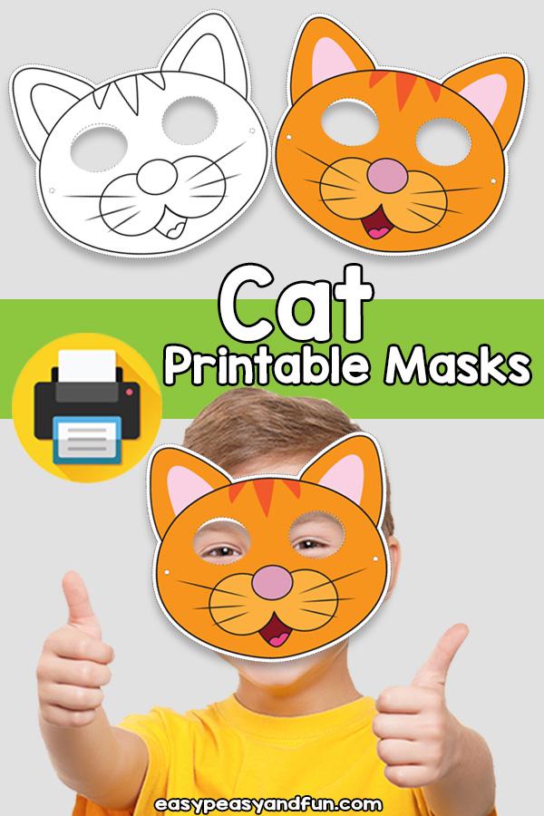 Cat Mask Template : template, Printable, Template, Peasy, Membership