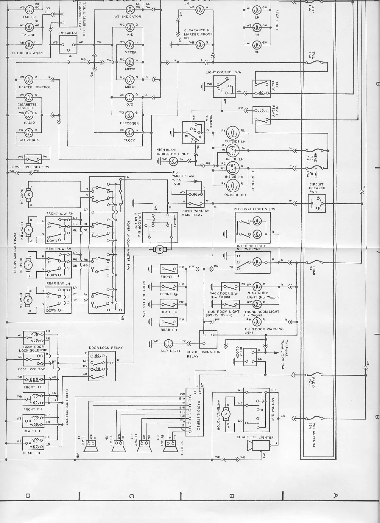 hight resolution of 1985 toyota celica fuse box illustration of wiring diagram u2022 89 toyota pickup fuse diagram