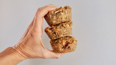 """""""On the Go"""" Baked Oatmeal Muffins"""
