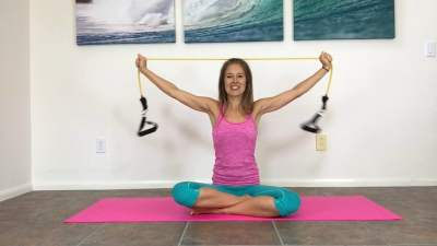 Arm Workout with Resistance Band