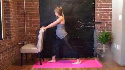 Prenatal Workout Series – 2nd Trimester Legs