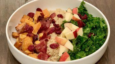 Simple Holiday Cobb Salad