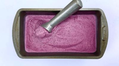 Creamy Berry Sorbet