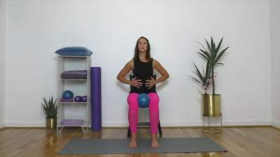 Gentle Breast Cancer Recovery Workout – Guest Teacher Jill Hinson