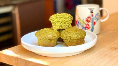 Green Machine Protein Muffins