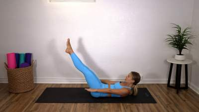 Pilates for Your Abs – Head to Toe Challenge #3