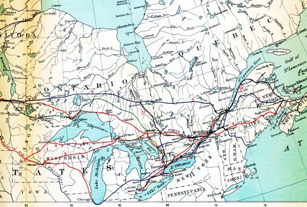 Canadian National Railways Part 1 Rolly Martin Country