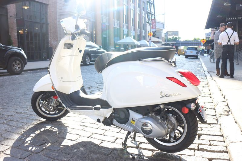 Modern Vespa  Review Of New Sprint 150