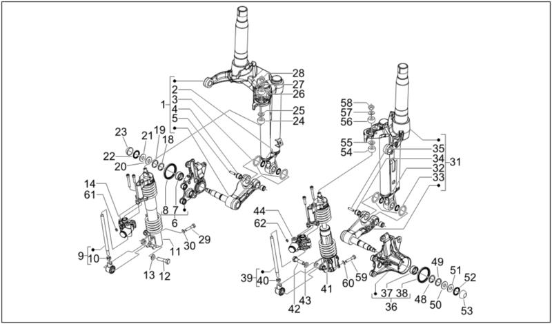 Modern Vespa : GT/GTS Brake Upgrade