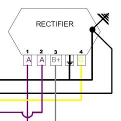 Spa Wiring Diagram 7 Wire For Trailer Plug Modern Vespa : Regulator/rectifier Dead Or Alive 1980 P200e