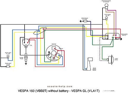 Vespa Sprint Wiring Diagram   Wiring Diagram Echo on