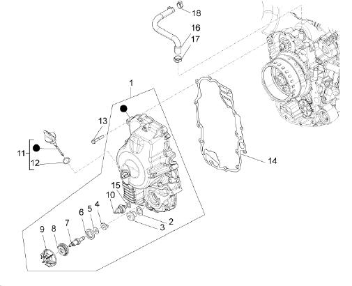 Modern Vespa : Piaggio BV 350 Head gasket