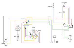 Modern Vespa : Vespa Stator Wiring Blues