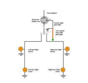 Modern Vespa : Flasher relay  please help