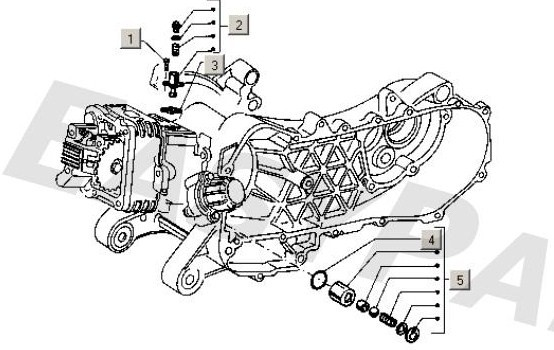Modern Vespa : engine enquiry et4 125