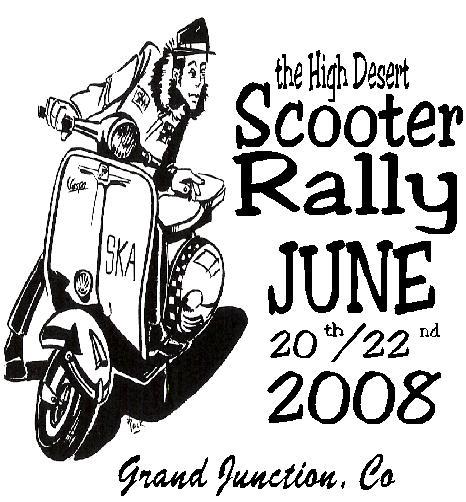 Modern Vespa : High Desert Scooter Rally. Grand Junction
