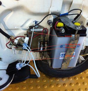Modern Vespa : Installing a 4pole 3rd party 6v rectifier on a '74 Rally
