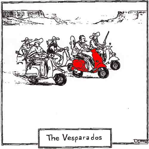 Modern Vespa : Did you see this week's New Yorker Magazine?