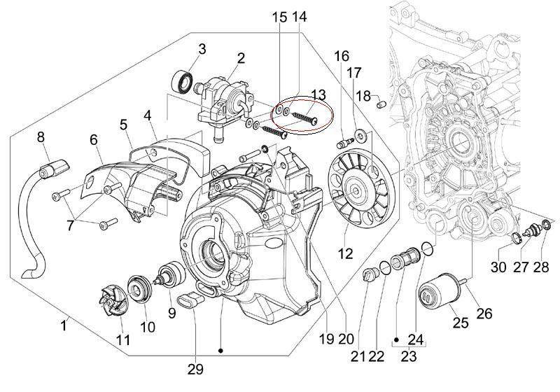 Modern Vespa : GT200 SAS Valve Fixing Screw