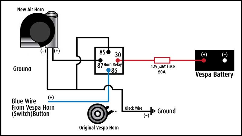 Stebel Horn Wiring Diagram : 26 Wiring Diagram Images
