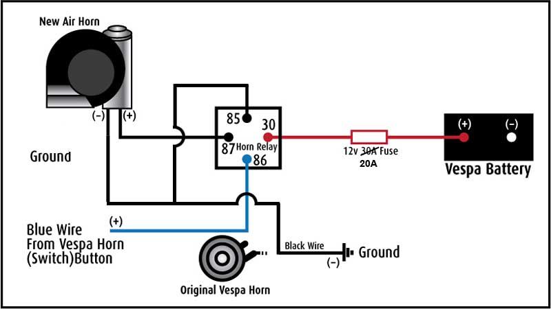 stebel nautilus horn relay wiring problem suzuki sv650 sv650