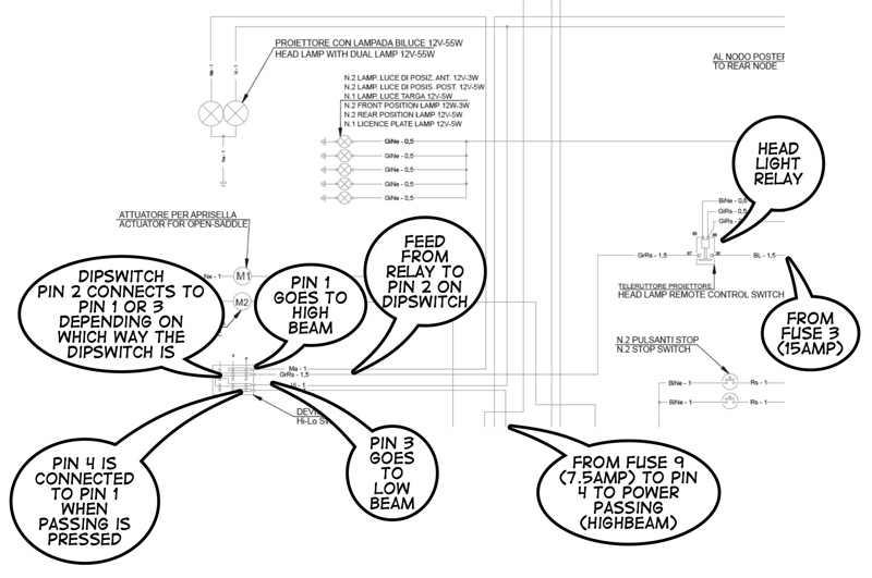 coast headlight wiring diagram