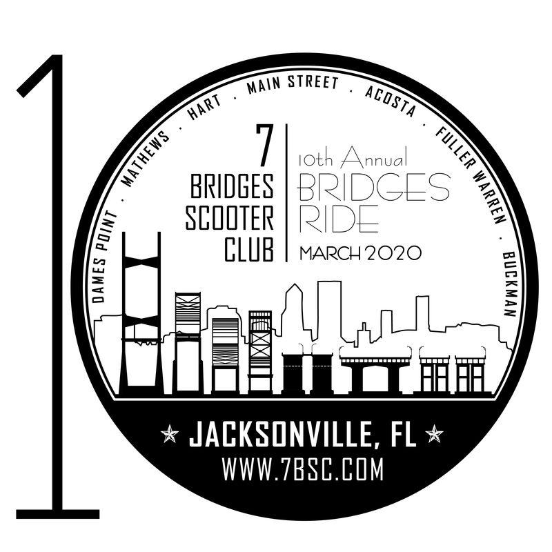 Modern Vespa : 10th Anniversary Annual Bridges Ride Weekend