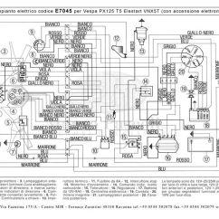 Headlight Wire Diagram Bulldog Remote Starter Wiring Modern Vespa : T5 Mk1