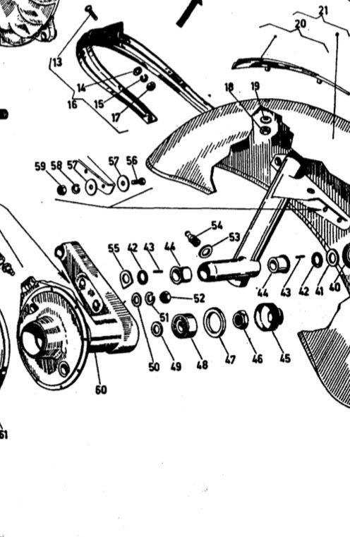 Modern Vespa : Vespa Gl Front wheel bearing issue