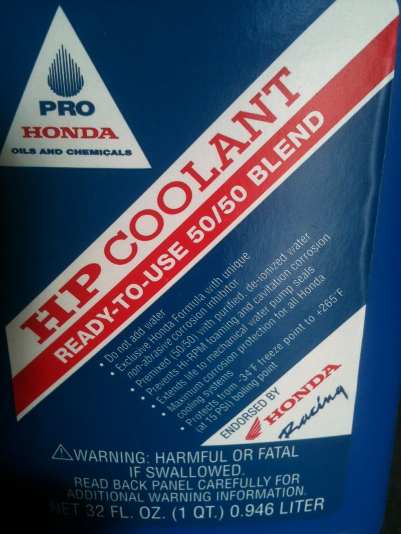 Honda Antifreeze Coolant