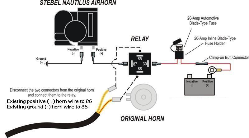pin relay wiring diagram horn image wiring diagram 5 pin relay wiring diagram horn jodebal com on 4 pin relay wiring diagram horn