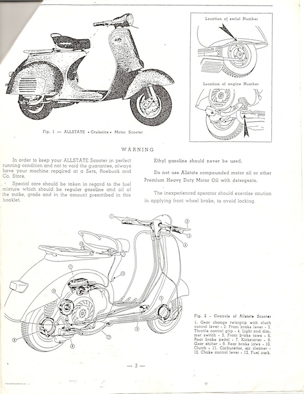 Modern Vespa : VNA dies and is hard to start when cold
