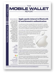 The Mobile Wallet Report, 13 September 2013