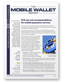 The Mobile Wallet Report, 22 November 2013