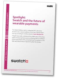 Spotlight: Swatch and the future of wearable payments