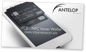 Covershot: Antelop's HCE-NFC Issuer Wallet