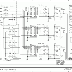 Tv Circuit Board Diagram Repair 220 Volt Wiring Diagrams Aide Remplacement Lcd Game Gear Metagames