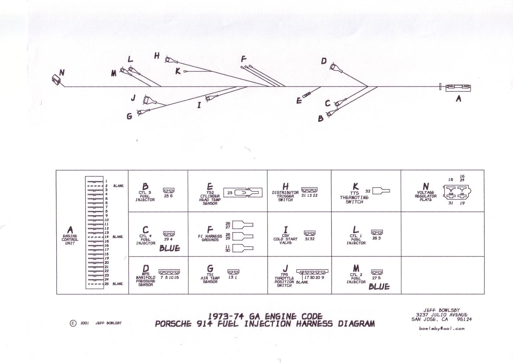1971 porsche 914 wiring diagram horizon soil formation schematics, diagrams and shop drawings. - page 3 shoptalkforums.com
