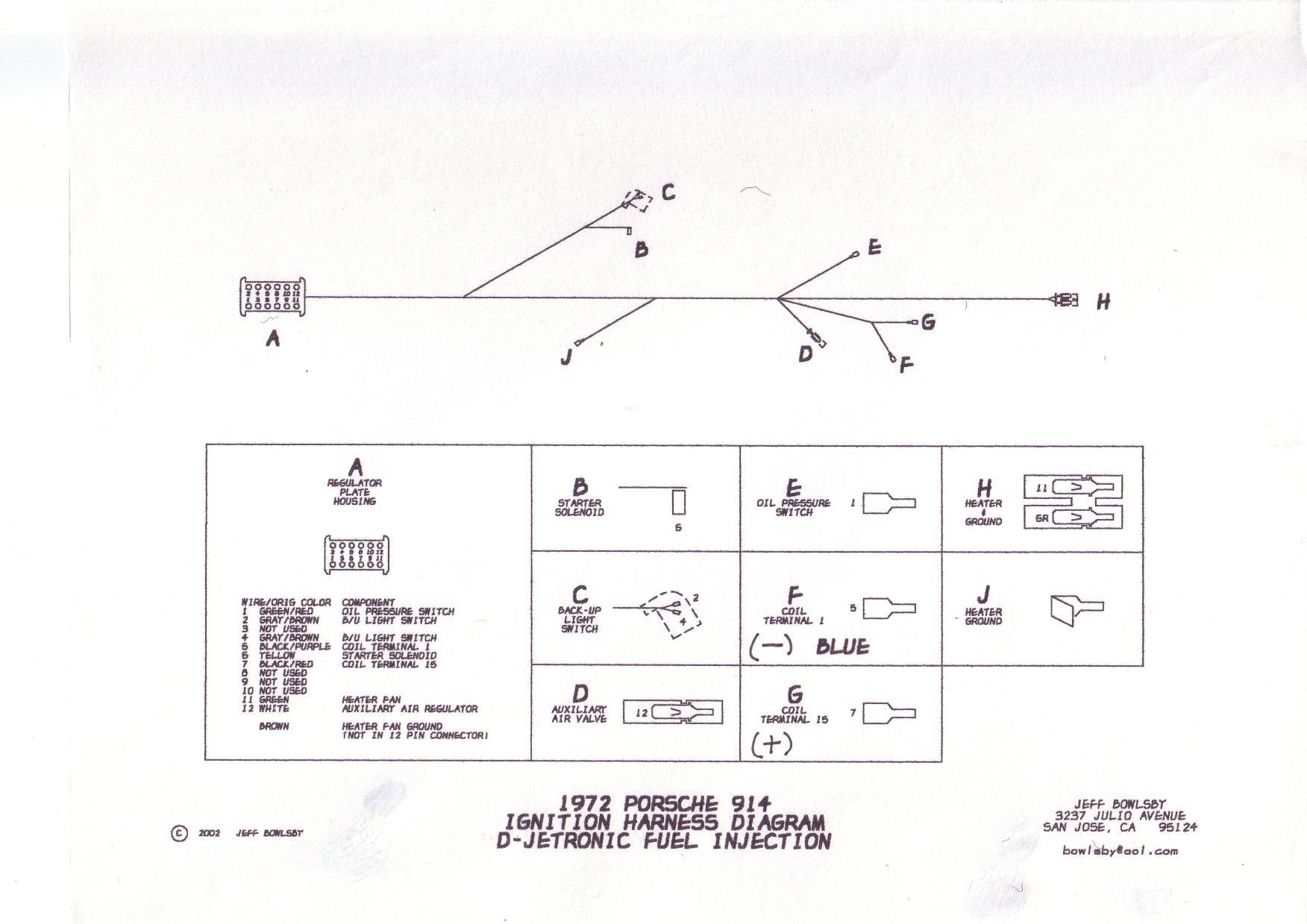 1975 porsche 914 wiring diagram vw polo 2001 1972 911 free engine image