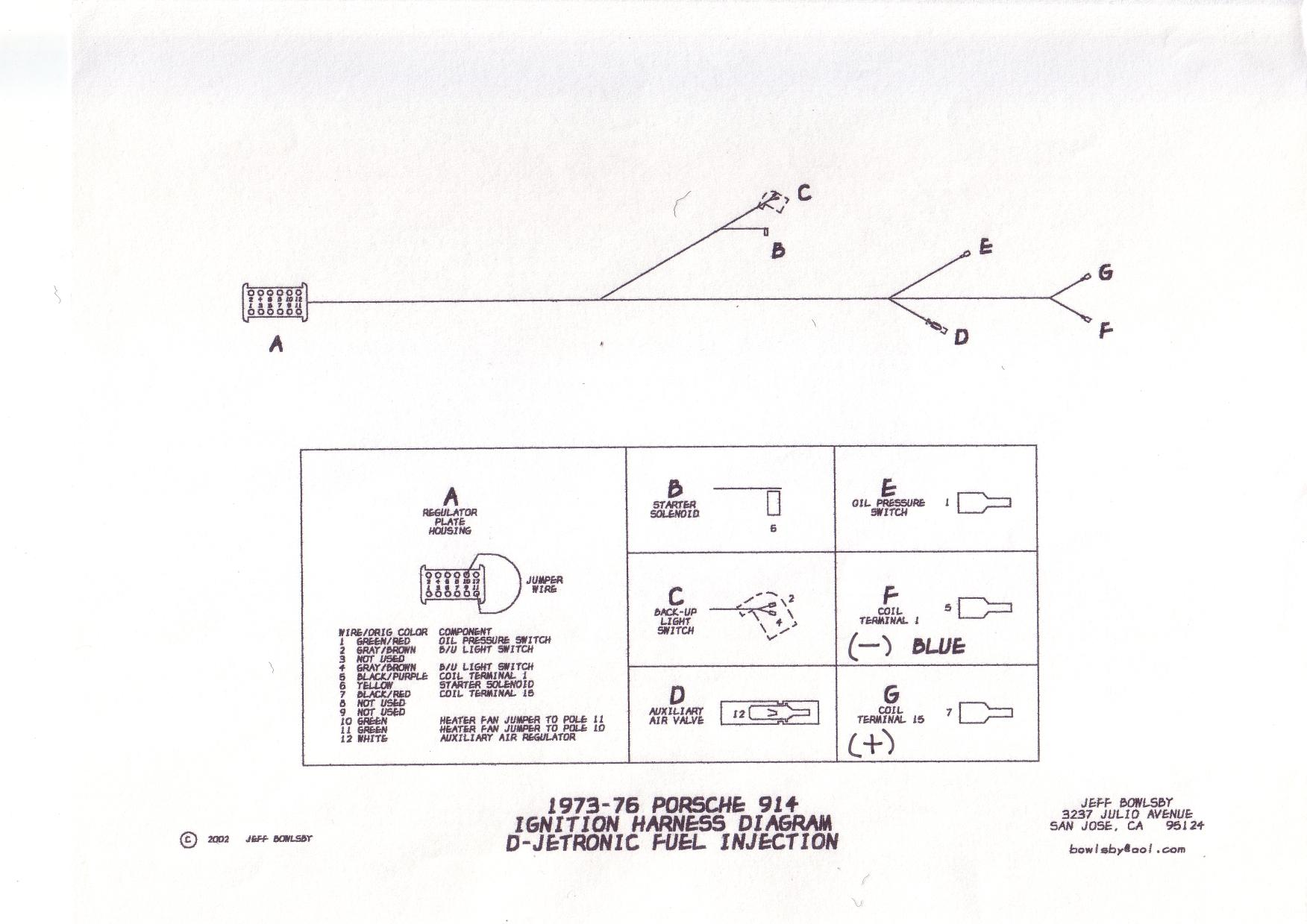 1971 porsche 914 wiring diagram single phase 230v motor is and vw 39s efi the same shoptalkforums