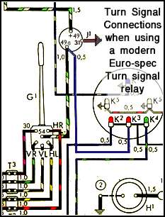 1971 vw beetle turn signal wiring diagram track lighting great installation of thesamba com 1958 1967 view topic 1969 1974